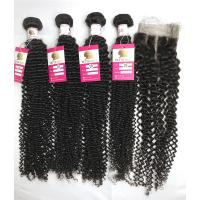China BVKC Curly Human Hair Extensions wholesale