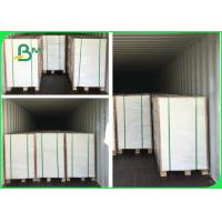 China FSC Certificated 300gsm 350gsm 400gsm C1S Ivory Board Paper For Packaging Boxes wholesale