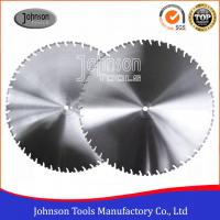 China Laser Welded Diamond Wall Saw Blades Reinforced Concrete Cutting with High Lifetime wholesale