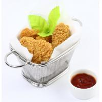 China 60 G Home Kitchen Accessories French Fries Storage Small Square Net wholesale