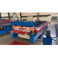 China Roof Panel Oman 380v 8kw Sheet Roll Forming Machine wholesale