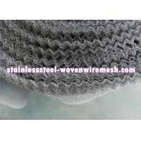 "China Crimped Stainless Steel Knitted Mesh Width 30"" / 42 Inch Wear - Resistance For Oil - Gas Separation wholesale"