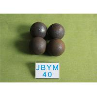 China Professional 61 - 63hrc Hot Rolling Steel Balls B2 D40mm Grinding Media Balls for Mining wholesale