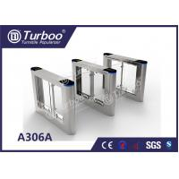 China Fast Speed Gate Turnstile / Office Security Gates Stainless Steel Frame wholesale