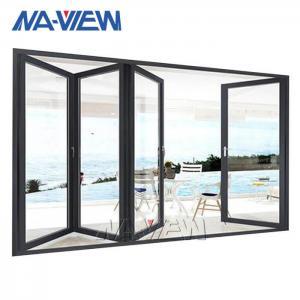 China Naview Aluminium Bifold Windows Horizontal Bifold Servery Windows wholesale