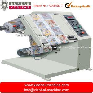 China Sticker Label Inspection Machine After Printing 220V 50 / 60HZ 1P on sale