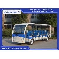 China 23 Plastic Seater Electric Shuttle Vehicles 5300×1730×2250mm Low Noise on sale