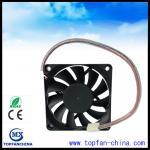 China Smart Fan Control For Car Cooling Sytem 12V 4500 RPM Cooling Fan 7015 Platics Frame and Impeller wholesale
