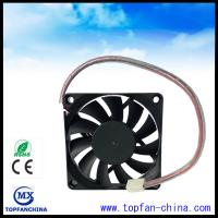 China Smart Fan Control For Car Cooling Sytem 12V 4500 RPM Cooling Fan 7015 Platics Frame and Impeller wholesale