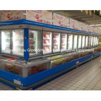 China 1500L Drinks Chiller Retrofit , Curved Glass Combination Freezer With CE wholesale