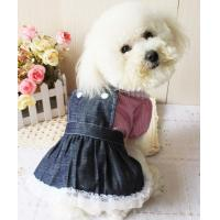 China 2012 new style cute dog jean skirt dog clothes wholesale