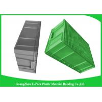 China Large Standard Warehouse Plastic Euro Stacking Containers 800*600*340mm wholesale