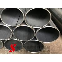 China Wear Resistant Round Welded Steel Tube 13mm Cold Drawn High Precision wholesale
