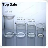 Buy cheap a series of different size glass jars for candles in stock from wholesalers