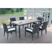 China Outdoor furniture wicker dinning table--9071 wholesale