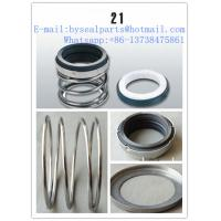 Buy cheap 21 type John Crane seal mechanical seal for water pump from wholesalers