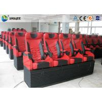 China Mobile 5D Cinema Simulator With 3DOF Motion Chair With 4 Seats Per Set wholesale