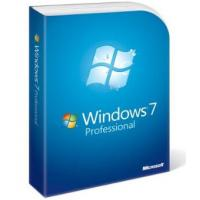 Quality Microsoft Windows 7 Professional OEM License Code Key , Windows 7 Pro Product for sale