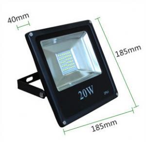 China 20W led reflector led lamp dimmable flood lighting SMD5630 black grey white housing wholesale