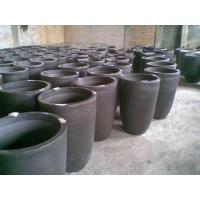 China H285*OD 214*BD146mm Silicon Carbide Graphite Crucible /melting Copper/smelting non-ferrous metal on sale