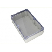 China Sealed 263*182*60mm Ip65 Plastic Enclosures With Clear Lid wholesale