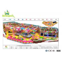 China Anti - Crack Infant Indoor Playground , Soft Play Indoor Playground Family Fun For Kids wholesale