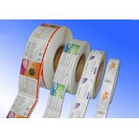 China Heat Sensitive Adhesive Paper Stickers , Adhesive Label Paper For Protective Film wholesale