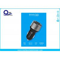 Buy cheap Quick Charge 3.0 10W 2 Port Mini USB Car Chargers with 12-24V DC Input from wholesalers