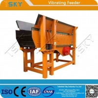 China GZG Light Weight Low Noise 500tph Vibratory Feeder wholesale