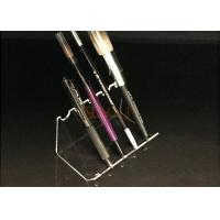 Quality 4mm Acrylic Clear Pen Display Stand Portable Pen Holder Hot Bend Cutting for sale