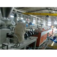 China Wood Plastic Composite Decking Production Line / PVC Profile Extrusion Line wholesale