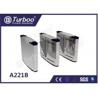 China Bi - Directional Swing Optical Barrier Turnstiles Gate With 35p/M Pass Rate wholesale