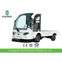 Buy cheap 72V AC Motor Electric Cargo Van Truck With Hydraulic Tail Lift , Loading from wholesalers