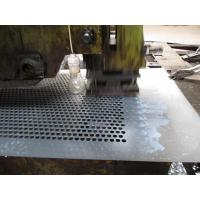 China 48x96 long round hole 3/8 Stainless steel perforated sheet metal for South America on sale