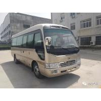China Medium Size 19 Seater Minibus Front Wheel Drive Bus With JE4D28Q5G Engine wholesale