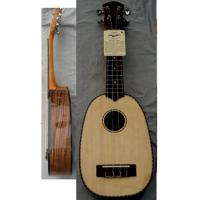 China Ebony Back Elliptical 21inch Hawaii Guitar Ukulele with Rosewood Bridge AGUL22 wholesale