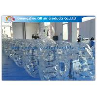 China Clear Giant Inflatable Hamster Ball Human Bubble Ball With Custom Logo Printing wholesale
