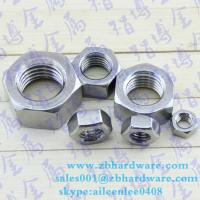 China High quality lowest price hex nut m3 to m64 din934 wholesale
