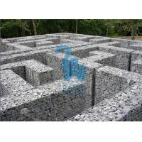 China Architectural / Geotechnical Stone Steel Gabion Baskets For Garden Paving wholesale