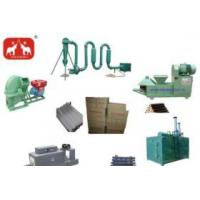 wood charcoal making line