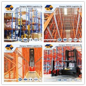 China High Density Galvanized Heavy Duty Steel Storage Racks With Customized Beam Size wholesale