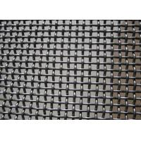 China Crush Stone​ Crimped Wire Mesh , Vibrating Screen Mesh Polished Surface Treatment wholesale