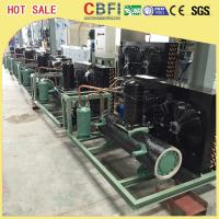 China Easy Operation Low Temperature Chiller / Air Cooled Chiller For Ice Making Machine wholesale