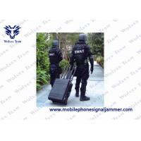 China 600W RF Military Signal Jammer , Cell Phone Reception Blocker CE/FCC Approval wholesale