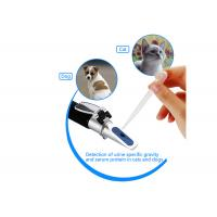 China Dogs / Cats Clinical Refractive Index Refractometer ATC With Aluminum Construction wholesale