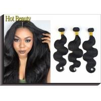 Buy cheap 12 Inch Brazilian Virgin Human Hair Bundles Body Wave For Every Beauty Tangle Free from wholesalers
