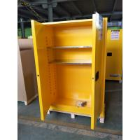 China Double Wall Construction Industrial Storage Cabinets / Chemical Storage Cupboards wholesale