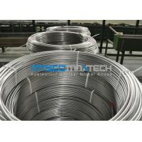 Quality Chemical Injection Seamless ASTM A269 Stainless Steel Tubing Line / Seamless Coiled Tubing for sale