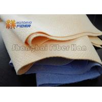 Buy cheap High Absorbing Blue Synthetic	Chamois Cleaning Cloth For Car Dirt Stain Removing from wholesalers
