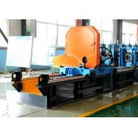 China Steel Pipe Making Machine / Cold Cut Pipe Saw , High Speed  Max 90m / min wholesale